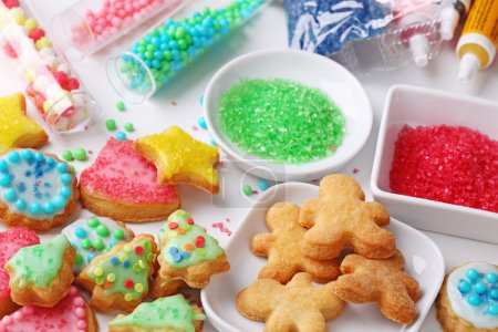 准备圣诞饼干_高清图片_邑石网