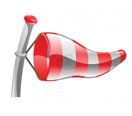 windsock illustration